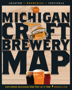 Mi-Beer Map'15Cover